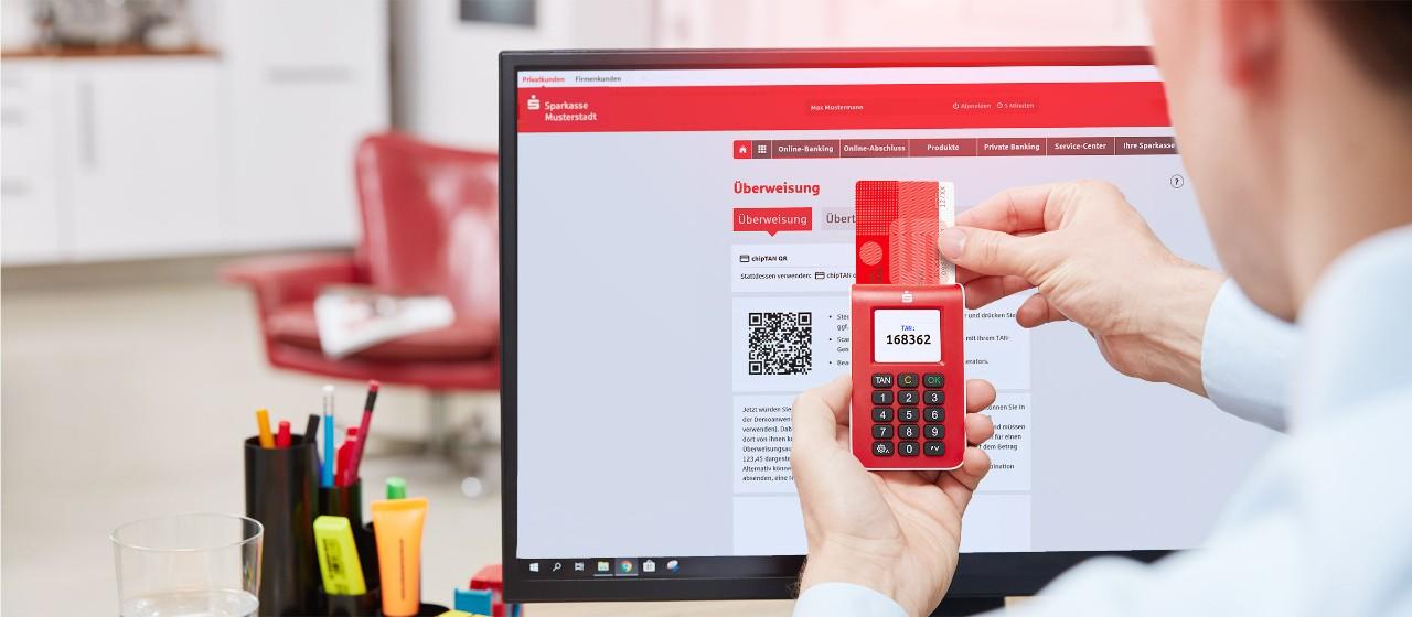 Online Banking Mit Chiptan Sparkasse Hagenherdecke
